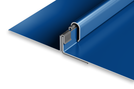 snap-on metal roofing