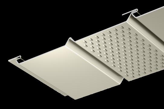 2016 - Soffit Panels - PAC-750 - Half Vent