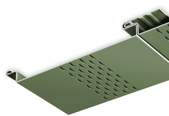2016 - Soffit Panels - Flush Narrow Vent