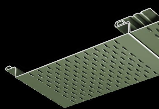 2016 - Soffit Panels - Flush Wide Vent